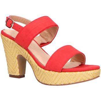 Zapatos Mujer Sandalias Maria Mare 67452 Rojo