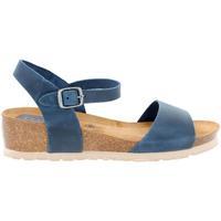 Zapatos Mujer Sandalias Elena Hernandez AMAYA Azul Azul