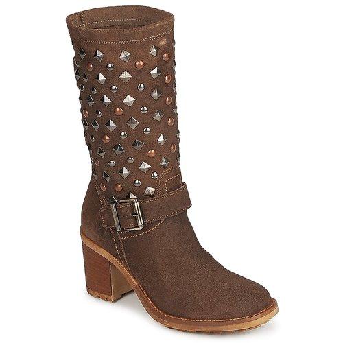 Zapatos promocionales Meline DOTRE Marrón  Venta de liquidación de temporada