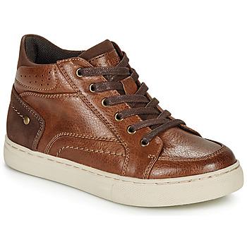 Zapatos Niño Zapatillas altas André FABOU Marrón