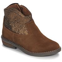 Zapatos Niña Botas de caña baja André DOLLY Camel