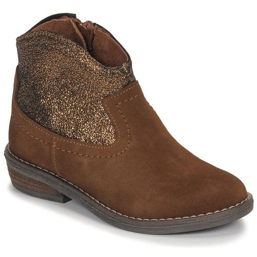 André DOLLY Camel - Envío gratis | ! - Zapatos Botas de caña baja Nino