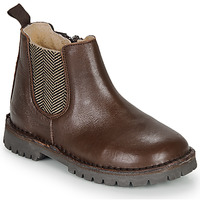 Zapatos Niño Botas de caña baja André XAVIER Marrón