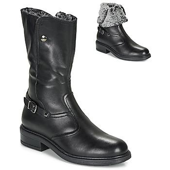 Zapatos Niña Botas urbanas André MOSCOU Negro