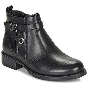 Zapatos Niña Botas de caña baja André MATHI Negro