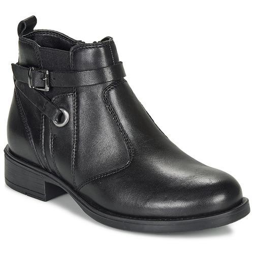 André MATHI Negro - Envío gratis | ! - Zapatos Botas de caña baja Nino