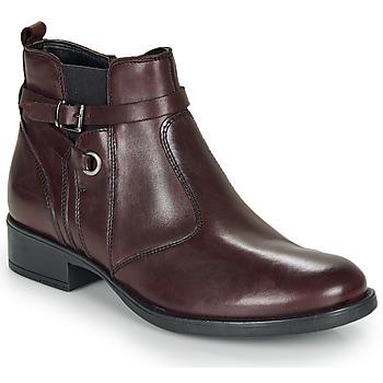 Zapatos Niña Botas de caña baja André MATHI Burdeo