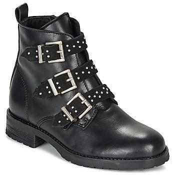 Zapatos Niña Botas de caña baja André REGLISSA Negro