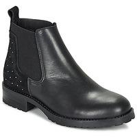 Zapatos Niña Botas de caña baja André SIXTINE Negro