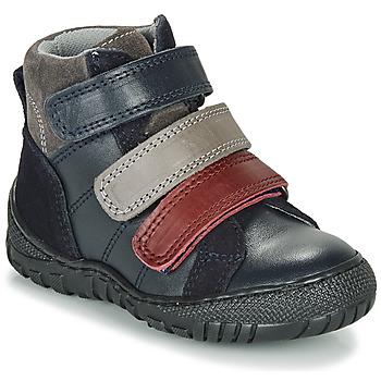 Zapatos Niño Botas de caña baja André NOAM Marino