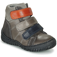 Zapatos Niño Botas de caña baja André NOAM Gris