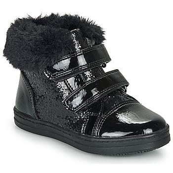 Zapatos Niña Zapatillas altas André JUDITH Negro