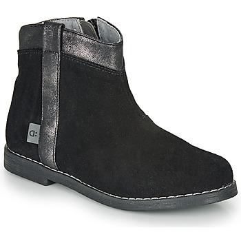 Zapatos Niña Botas de caña baja André NOLWENN Negro