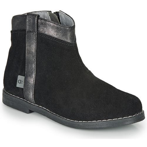 André NOLWENN Negro - Envío gratis | ! - Zapatos Botas de caña baja Nino