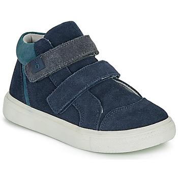 Zapatos Niño Zapatillas altas André UBUD Marino
