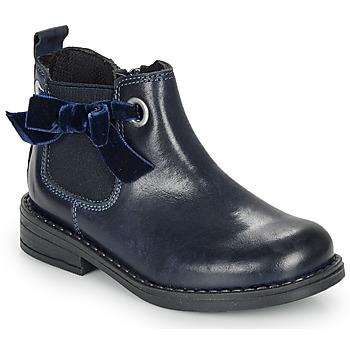 Zapatos Niña Botas de caña baja André VAL Marino