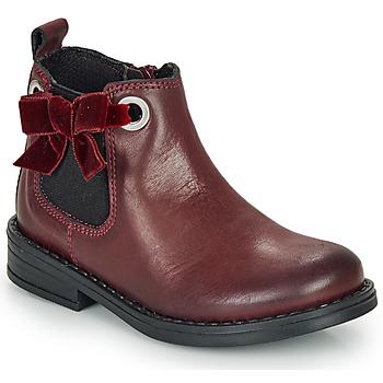 Zapatos Niña Botas de caña baja André VAL Burdeo