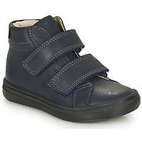 Zapatos Niño Zapatillas altas André EDGAR Marino