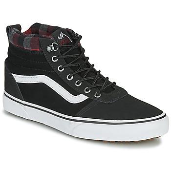 Zapatos Hombre Zapatillas altas Vans WARD NR MON Negro