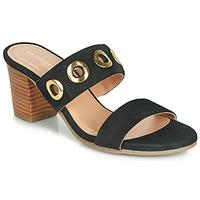 Zapatos Mujer Sandalias Les Tropéziennes par M Belarbi OPENCE Negro