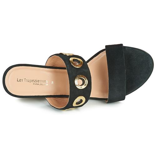Negro Tropéziennes Sandalias Belarbi Par Zapatos M Les Opence Mujer NnwvOm08