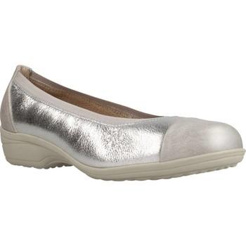 Zapatos Mujer Bailarinas-manoletinas Pinoso's 6842 M Plata