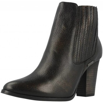 Zapatos Mujer Botines Pepe jeans CINDY METALLIC Negro
