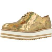 Zapatos Mujer Derbie Alpe 1720 40 Oro