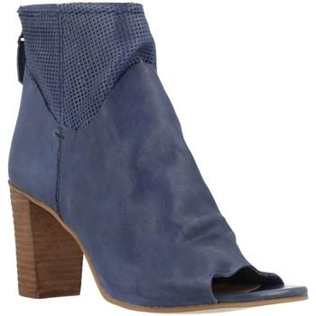 Zapatos Mujer Botines Elvio Zanon B2511X Azul