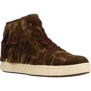 Zapatos Niña Botas de caña baja Geox J AVEUP G. F Verde