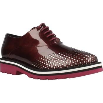 Zapatos Mujer Derbie Angel Infantes 705A Rojo