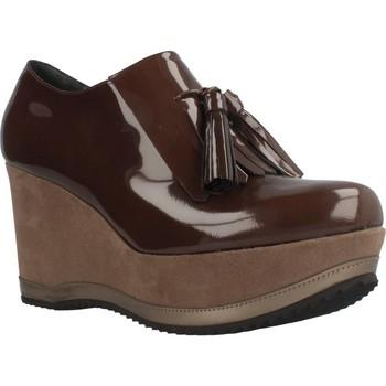 Zapatos Mujer Mocasín Bruglia 6075 Marron