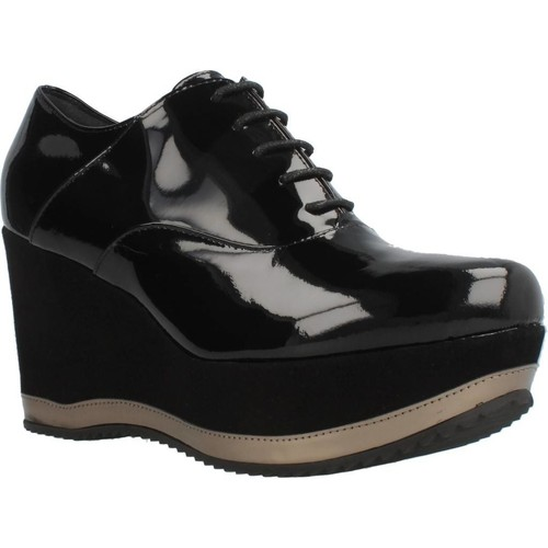 Zapatos Mujer Richelieu Bruglia 6076 Negro