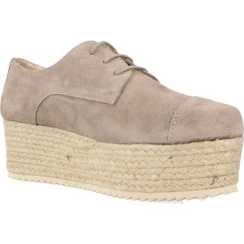 Zapatos Mujer Alpargatas Bossi 3862 Gris