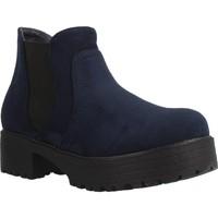 Zapatos Niña Botas de caña baja Different 4216 Azul
