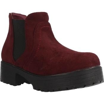 Zapatos Niña Botas de caña baja Different 4216 Rojo