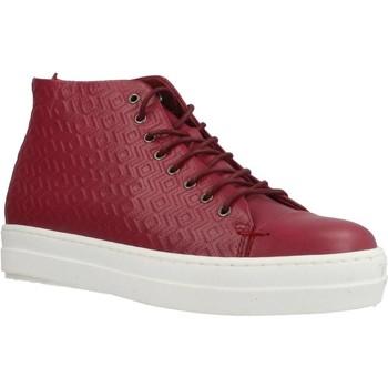 Zapatos Mujer Zapatillas altas Gas ROMA ETNICO Rojo