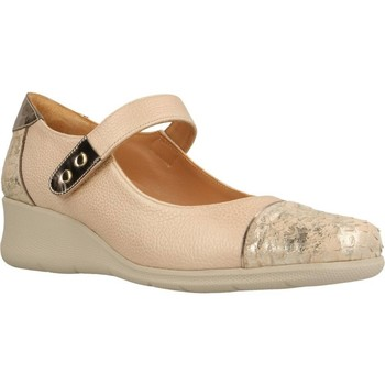 Zapatos Mujer Derbie & Richelieu Platino 1174080 Marron