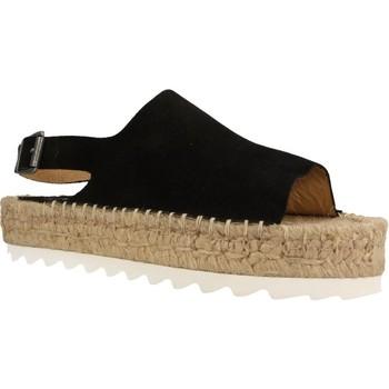 Zapatos Mujer Alpargatas Mamalola 464M Negro