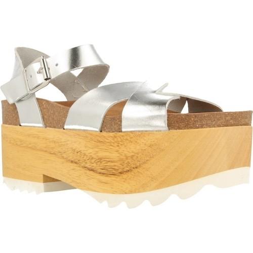 Zapatos Mujer Sandalias Mamalola 71527 Plata