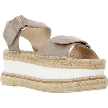 Zapatos Mujer Sandalias Equitare 72325 Gris
