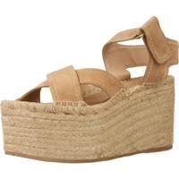 Zapatos Mujer Alpargatas Equitare 17006E Marron