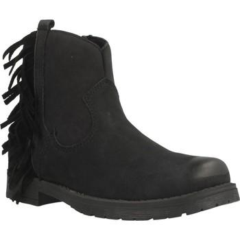 Zapatos Niña Botas de caña baja Lulu WENDY Negro