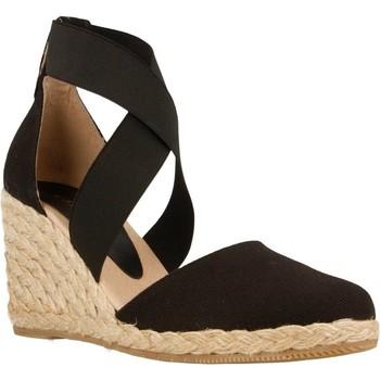 Zapatos Mujer Alpargatas Equitare JONES03 Negro