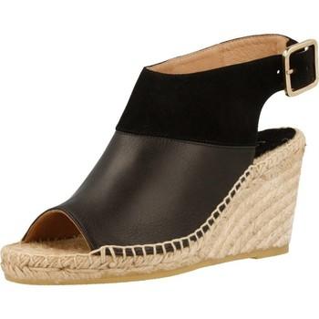Zapatos Mujer Alpargatas Equitare JONES26 Negro