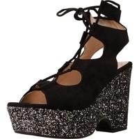 Zapatos Mujer Sandalias Angel Alarcon 16625A Negro