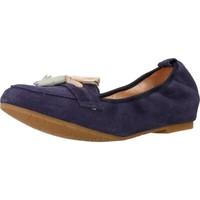Zapatos Mujer Bailarinas-manoletinas Mikaela 17010 Azul