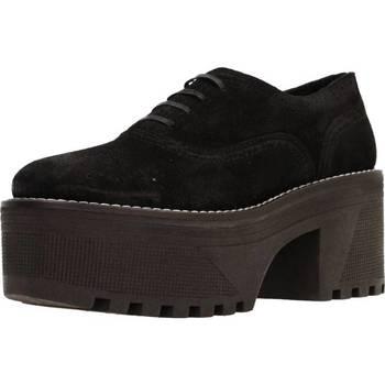 Zapatos Mujer Derbie Alpe 3505 11 Negro