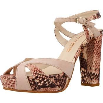 Zapatos Mujer Sandalias Angel Alarcon 17516 513 Rosa