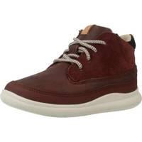 Zapatos Niño Botas de caña baja Clarks CLOUD AIR FST Rojo
